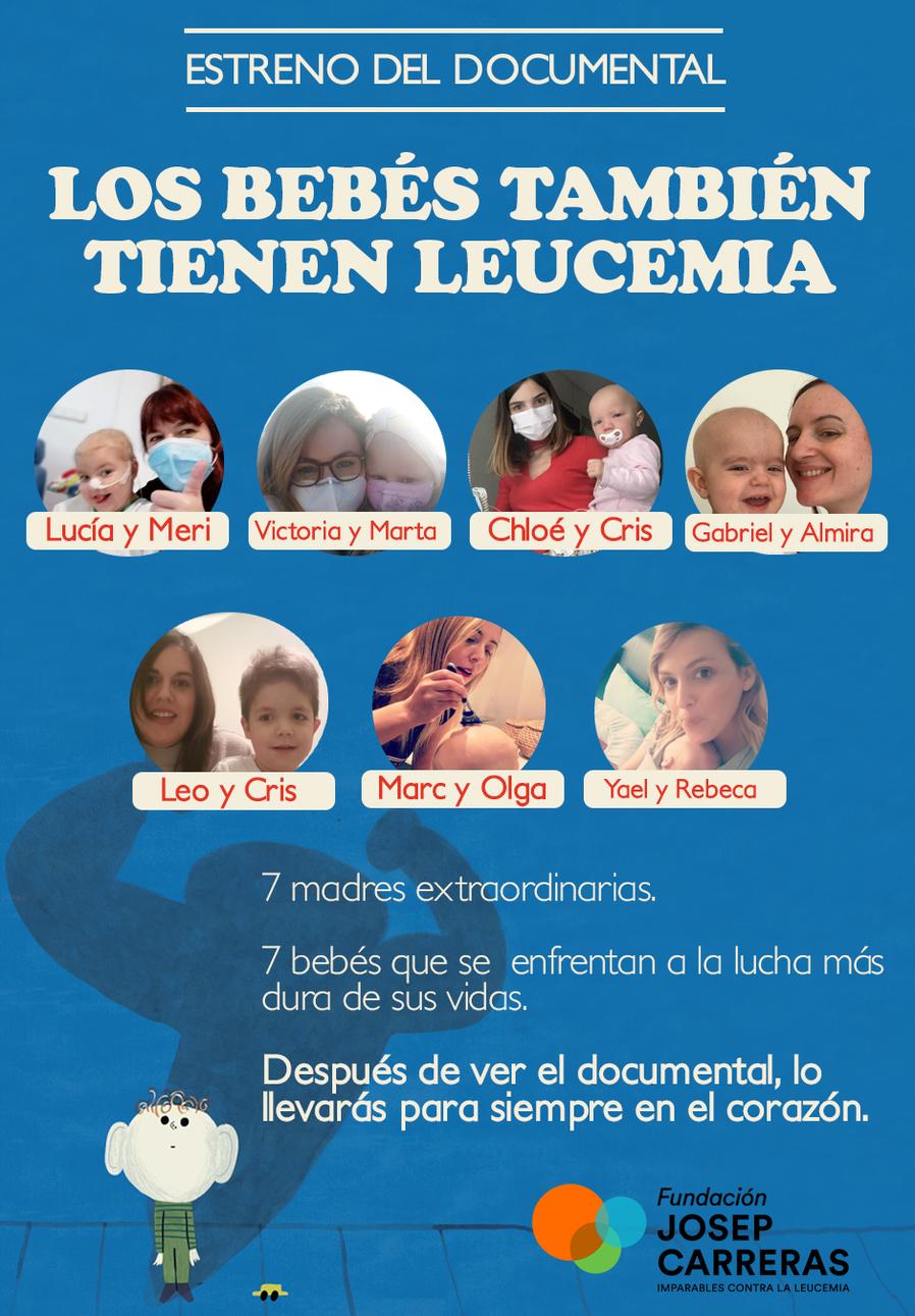 Poster Documental LOS BEBÉS TAMBIÉN TIENEN LEUCEMIA