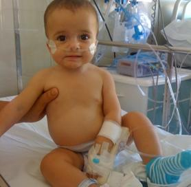 Leo, former Severe Combined Immunodeficiency patient