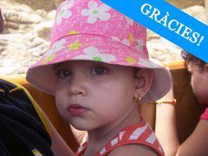 Sofia, pacient de leucèmia