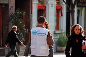 Captadores de socios de la Fundación Josep Carreras