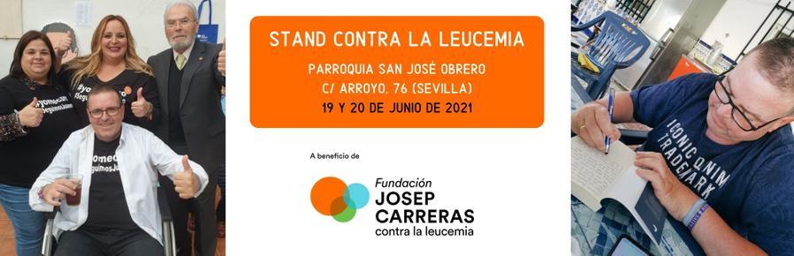 STAND SOLIDARIO CON JUANMA IMPARABLE CONTRA LA LEUCEMIA