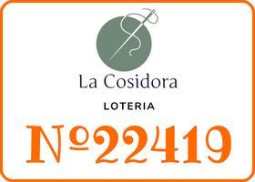 LOTERÍA | Lotería de Navidad en La Cosidora