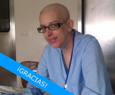 Raquel, ex-paciente de LMA