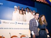 Mario Casas y María Castro durante la campaña de sensibilización de 2011