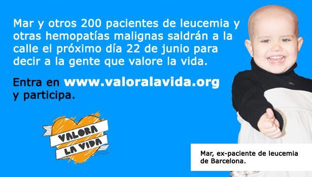 Entra en www.valoralavida.org y participa