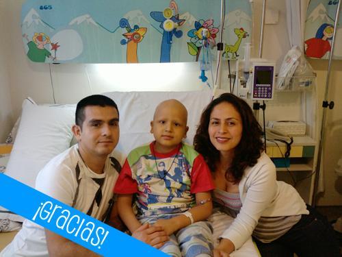 Sami, paciente de leucemia