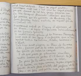 Libro de visitas Rosa Mari Rosell
