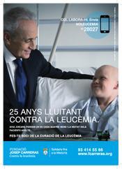 """Gràfica campanya 2013 """"25 anys lluitant contra la leucèmia"""""""