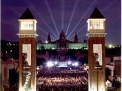 Imagen aérea del concierto de celebración de los 10 años de la Fundación Josep Carreras