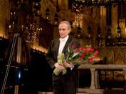 Josep Carreras en un recital benéfico en Palma de Mallorca en 2007