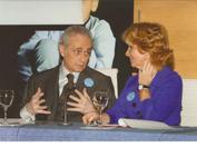 Josep Carreras durante la campaña de sensibilización de 2009