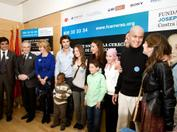 2009 Awareness campaign at the Gregorio Marañón Hospital in Madrid
