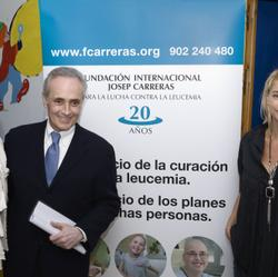 José Carreras and Belén Rueda