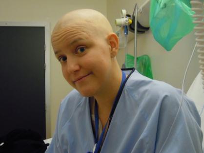 Yolanda durante el tratamiento
