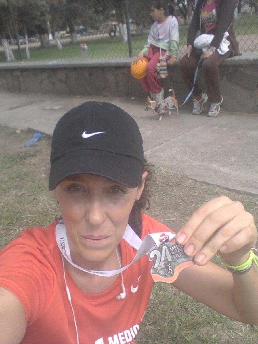 Laura medalla