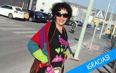 Eva, paciente de leucemia de Granada
