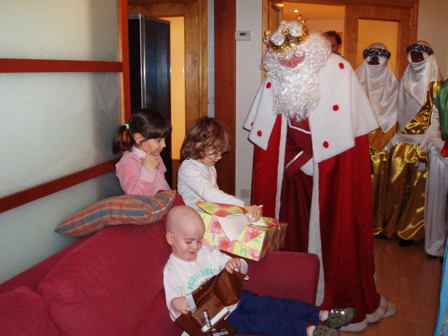 Mario, paciente leucemia Navidad