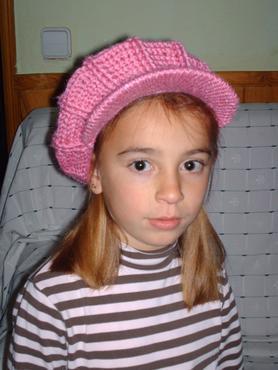 Aina, antes del diagnóstico, cuando tenía 6 años.