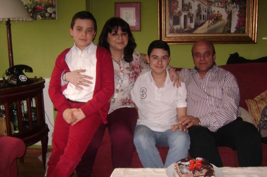 Almudena, former leukaemia patient