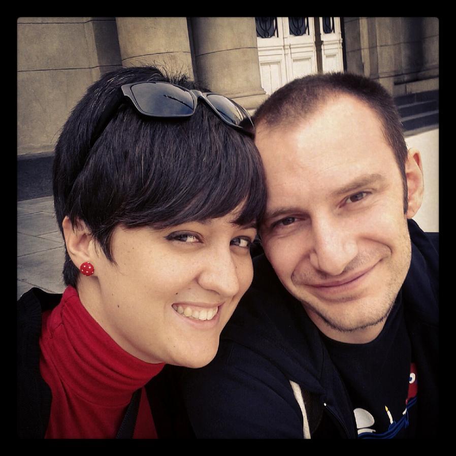 Alicia y su marido