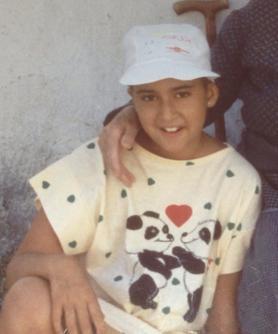 Noelia, former leukaemia patient