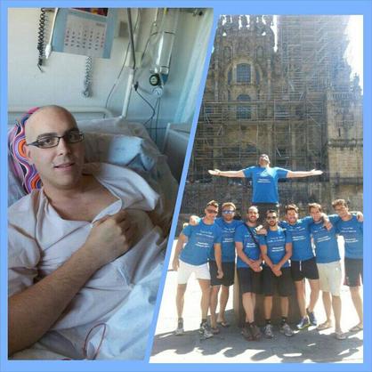 Juan, ex-paciente leucemia
