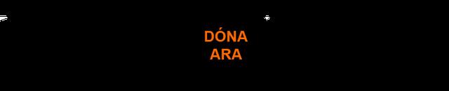 botó DONA ARA