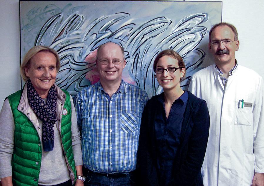 Prof. Ulrich Germing equip