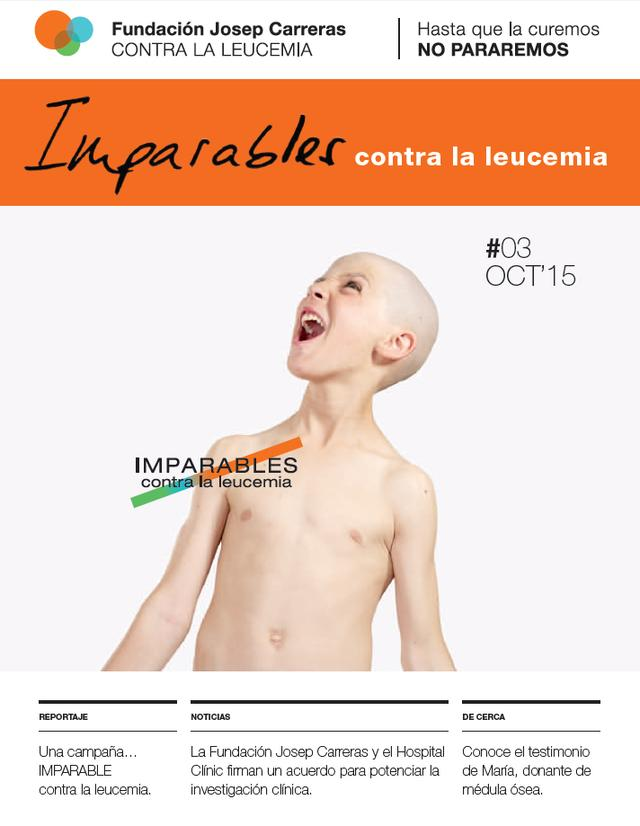 Portada revista Imparables #03 CAST ok