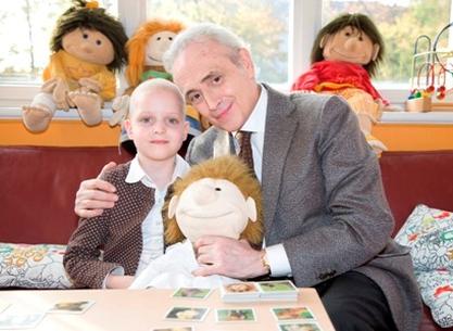 Josep Carreras i nena a Alemanya