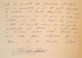 Libro de visitas Francisco Liébana